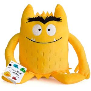 el monstruo de colores amarillo