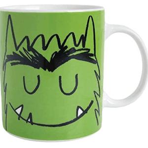 taza de monstruos de colores
